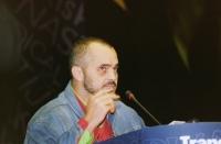 38° Congresso, II sesione. Edi Rama, sindaco di Tirana.
