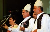 38° Congresso, II sessione. Complesso folkloristico albanese.