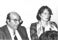 ritratto di Maud Marin (a destra) (BN)
