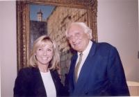 Frederique Ries (parlamentare europeo belga) e Marco Pannella (nell'ambito di una missione di una delegazione radicale in Israele).