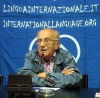 Sergio Stanzani, nel corso di una conferenza stampa presso la sede di Torre Argentina, a 9 giorni di digiuno del segretario dell'Associazione Radicale