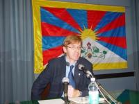 """SEMINARIO EUROPEO """"PER IL TIBET, L'ULTIMA CHANCE?"""". Gunther Cologna, Presidente Italia-Tibet."""