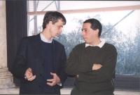 Olivier Dupuis e Paolo Chiarelli (in occasione di una riunione del Comitato).