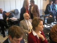 """Al centro: Filippo Mancuso (in occasione del Convegno, presso la sede di Torre Argentina, """"L'AUTOMONITORAGGIO DELLE DEMOCRAZIE OCCIDENTALI  A PARTIRE"""