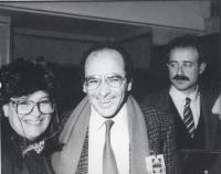 Norma Andriani, Rocco Martino e Sergio D'Elia (BN)