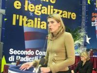 Secondo Congresso dei Radicali Italiani. Cristina Sponza (candidata radicale della regione Friuli).