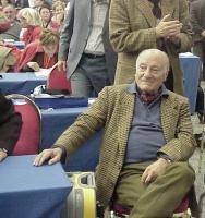 Raffaele La Capria al Secondo Congresso dei Radicali Italiani.