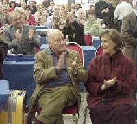 Raffaele La Capria e Ilaria Occhini, al Secondo Congresso dei Radicali Italiani.