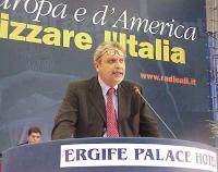 Danilo Quinto al Secondo Congresso dei Radicali Italiani.
