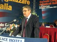 Danilo Quinto alla tribuna del Secondo Congresso dei Radicali Italiani.