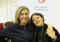 Francesca Mambro e Silvana Bononcini (in occasione del Secondo Congresso dei Radicali Italiani).