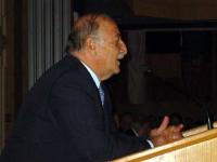 S.E. Zaid Rafai Presidente del Senato già primo Ministro del governo Giordano.