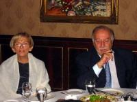S.E. Zaid Rafai (Presidente del Senato già primo Ministro del governo Giordano) ed Emma Bonino.