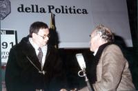 Domenico Rea e Pasquale Squitieri partecipano a una manifestazione radicale, per la campagna di iscrizioni al PR.