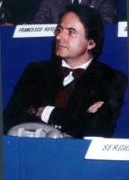Gianni Mattioli, a un congresso radicale.