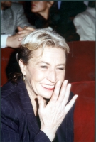 Barbara Alberti (in occasione di una manifestazione radicale al teatro Parioli, per la campagna di iscrizioni al PR).
