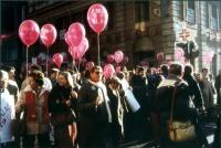 """Marcia di Natale per """"tre milioni di vivi nel 1986""""."""