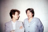 Emma Bonino in visita nel carcere americano dove è detenuta SIvlia Baraldini.