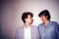 Emma Bonino e Silvia Baraldini (detenuta per reati associativi).