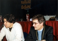 Marco Cappato e Maurizio Turco al Secondo Congresso dei Radicali Italiani.