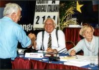 Paolo Vigevano, Marco Pannella e Rita Bernardini al Secondo Congresso dei Radicali Italiani.