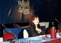 Antonella Dentamaro al Secondo Congresso dei Radicali Italiani.