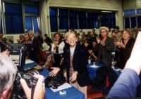 Emma Bonino. durante il Secondo Congresso dei Radicali Italiani.