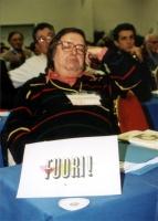 Nicolino Tosoni al Secondo Congresso dei Radicali Italiani.