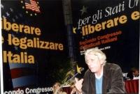 Massimo Bordin al Secondo Congresso dei Radicali Italiani.,