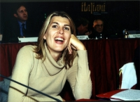 Christina Sponza al Secondo Congresso dei Radicali Italiani.
