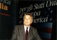 Arturo Diaconale al Secondo Congresso dei Radicali Italiani.