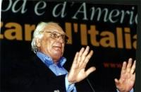 Marco Pannella al Secondo Congresso dei Radicali Italiani.