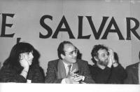 Norma Andriani, Rocco Martino e Salvatore Samperi, al 32° Congresso del PR.