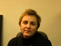"""Carmen Colitti (dirigente di """"Non c'è pace senza giustizia"""")."""