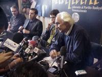 Conferenza stampa di Marco Pannella, al termine del digiuno e dello sciopero della sete, per il ripristino della legalità costituzionale (plenum) alla