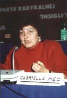 Gabriella Meo (Verdi), al Consiglio Generale del PR.