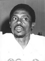 foto primissimo piano di Basile Guissou Ex ministro degli esteri del Burkina Faso.  (BN)  Buona