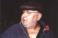Paolo Villaggio (nel corso di una manifestazione al cinema Adriano, per la campagna di iscrizioni al PR).