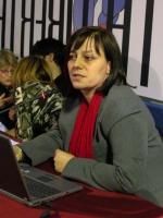 Marisa Jaconi (Biologa cellulare, Dipartimento di Geriatria, Università di Ginevra, Svizzera) interviene al Secondo Congresso dell'Associazione Luca C