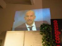 Secondo Congresso dell'Associazione Luca Coscioni, nell'ex-manicomio di Santa Maria della Pietà. Intervento videoregistrato di Gianluca Vialli.