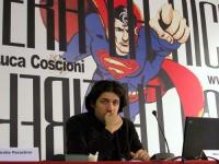 Marco Cappato al Secondo Congresso dell'Associazione Luca Coscioni, nell'ex-manicomio di Santa Maria della Pietà.