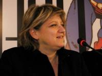 Rita Bernardini, in occasione del Secondo Congresso dell'Associazione Luca Coscioni, nell'ex-manicomio di Santa Maria della Pietà.