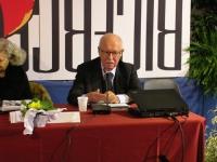 Antonio Del Pennino interviene al Secondo Congresso dell'Associazione Luca Coscioni, nell'ex-manicomio di Santa Maria della Pietà.