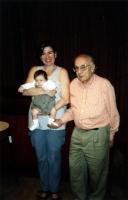 Francesca Mambro, Sergio Stanzani, e Arianna, figlia di Francesca.