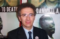 """Antonio Stango (in occasione della CONFERENZA INTERNAZIONALE  DI NESSUNO TOCCHI CAINO """"MORATORIA DELLE ESECUZIONI CAPITALI"""")."""