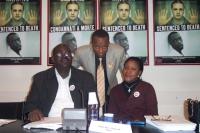 Abdul Doloro, Demba Traore (deputato del Mali), Jumoke Okoya-Thomas (parlamentare della Nigeria)  (in occasione della CONFERENZA INTERNAZIONALE  DI NE