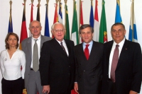 Elisabetta Zamparutti, Sergio D'Elia, George Ryan (già governatore dell'Illinois), Antonio Tajani, ecc.