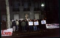 Manifestazione a sostegno dell'appello radicale per un'amministrazione dell'ONU in Cecenia, nell'anniversario della deportazione del popolo ceceno dec