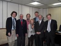 Emma Bonino (insieme a Marco Cappato e a Gianfranco Dell'Alba) in visita in Iraq su invito dell'Organizzazione non governativa per l'assistenza alle d