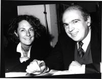 ritratto di Francesca Capuzzo e Gianfranco Spadaccia (BN) ottima 857bis: gli stessi sorridenti.